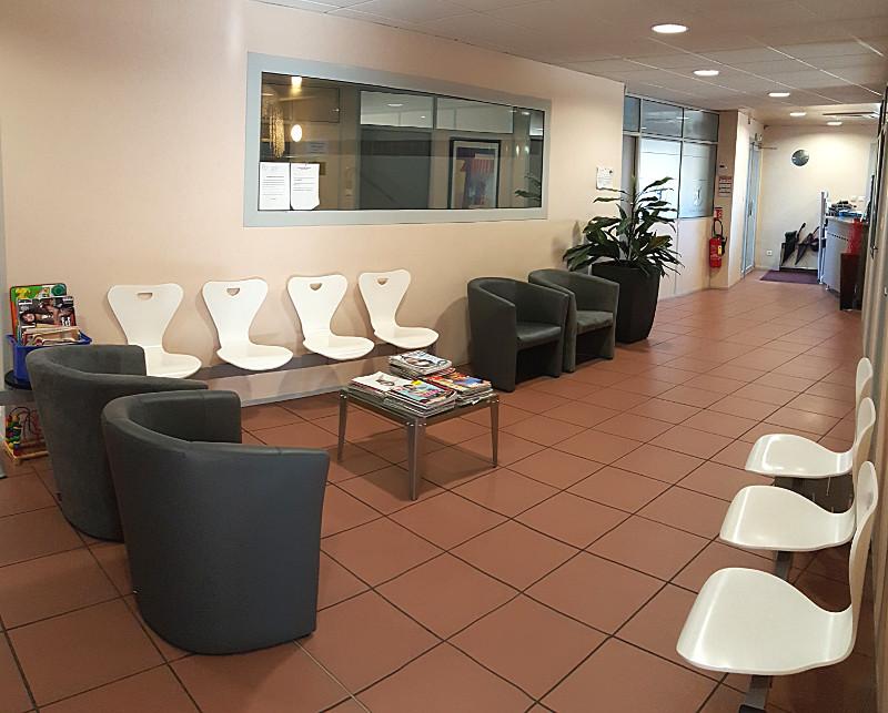 Salle d'attente du centre Magellan